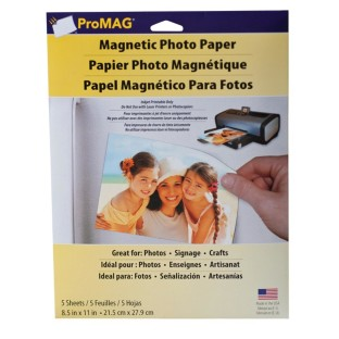 INKJET PRINTABLE MAGNETIC SHEETS PK/5