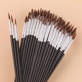 Pointed Round Brushes