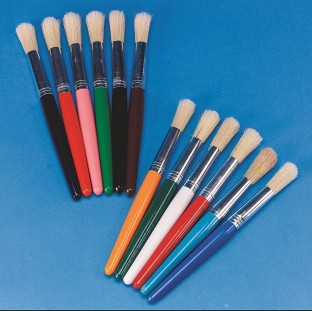 Stubby Paint Brush Pack