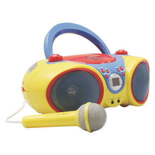 Kids CD Player w/Mic
