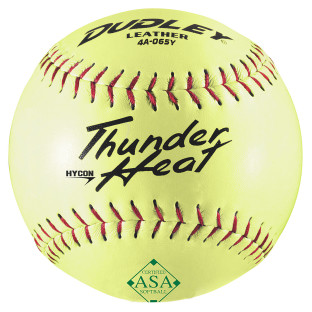 Dudley® Thunder ASA Slow Pitch Softball Leather 12