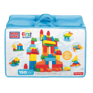 Mega Bloks® Builder Bag of 150 Beginner Blocks