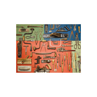 VINTAGE TOOLS LARGE PIECE PUZZLE