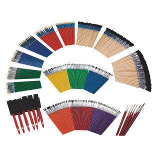 Watercolors, shed-proof brushes and more!