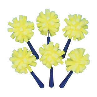 FLOPPY SPONGE BRUSHES PK/6