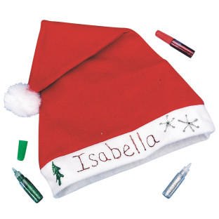 Holiday Santa Hat Craft Kit