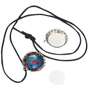 BOTTLE CAP CREATIONS NECKLACE PK/12