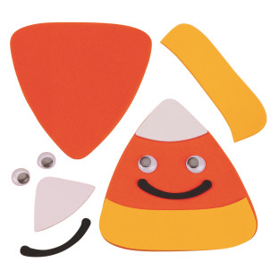 Candy Corn Magnet Craft Kit