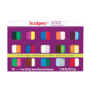 Sculpey® Polymer Clay Sampler 1-oz. Colors