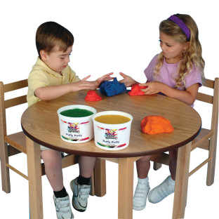 A bargain beginner modeling dough.