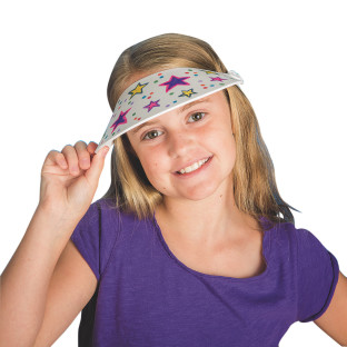 Color-Me™ Foam Visors