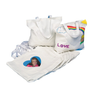 Color-Me™ Bags with Heart Photo Pocket