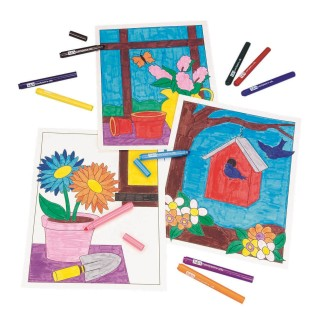 Floral Still Life Posters Craft Kit