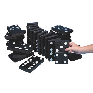We've scaled up the Domino Fun!