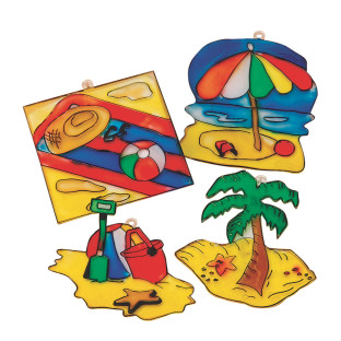 Beach Sun Catchers Craft Kit