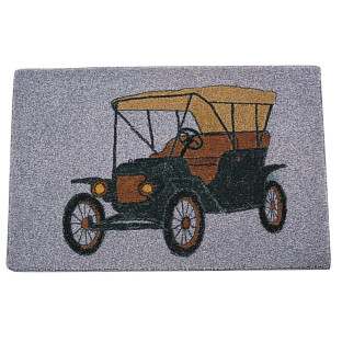 Decorative Mat - Antique Auto