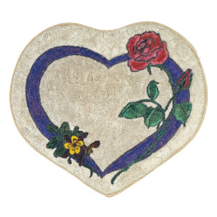 Decorative Mat - Rose Heart