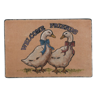 MAT DECORATIVE DUO DUCKS