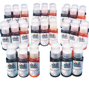 Color Splash!® Liquid Watercolors Pass Around Pack, 1 oz.