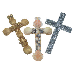 Shell Crosses Craft Kit