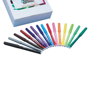 Color Splash!® Fineline Markers PlusPack