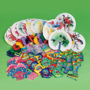 Luau Novelty Easy Pack