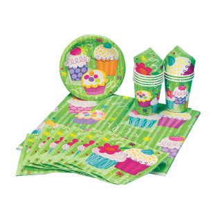 Cupcake Tableware Party Pack