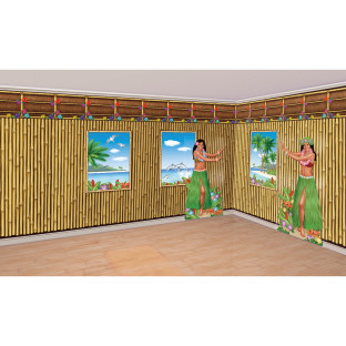 Guests will feel like they're in a real Tiki hut!