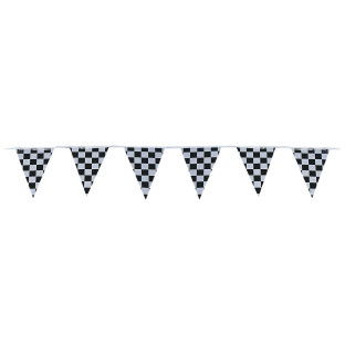 120' Checkered Pennant