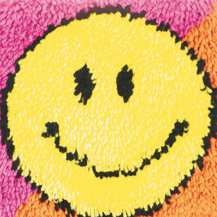 Smiley Face Latch Hook Kit, 12