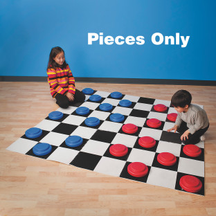 Jumbo Checker Pieces