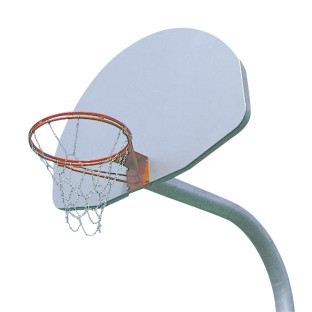 Aluminum Fan Backboard White Powdercoat Paint