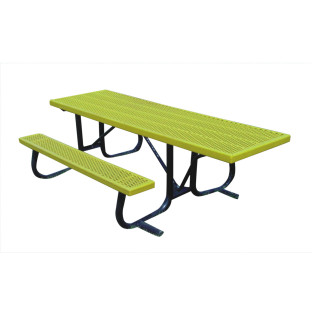 8' wheelchair end-access picnic table