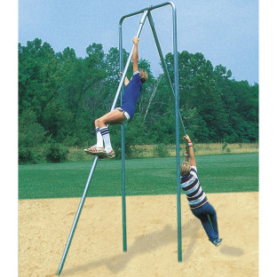 Playground Climbing and Sliding Poles