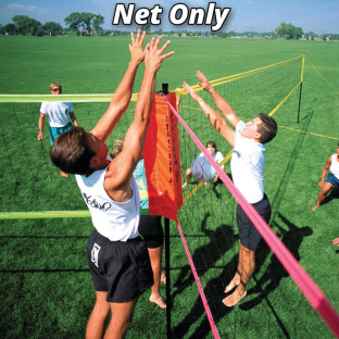 Tri-Ball Volleyball Net