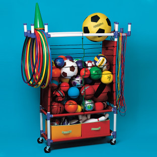 You can even store bowling equipment!