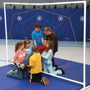 Spider's Web Team Building Game