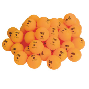 Spectrum™ Table Tennis Balls 1 Star, Orange