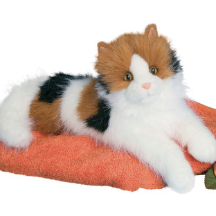 Plush Calico Cat