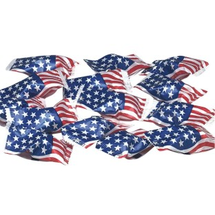 US Flag Wrapped Buttermints