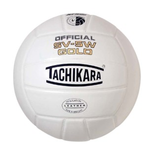 Tachikara® SV-5W Gold Leather Volleyball