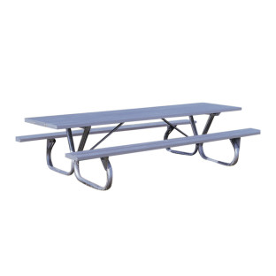 Picnic Table 8' Aluminum