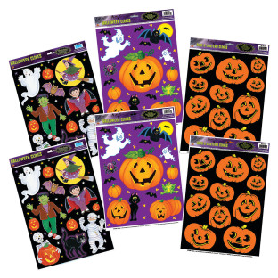 Halloween Static Clings
