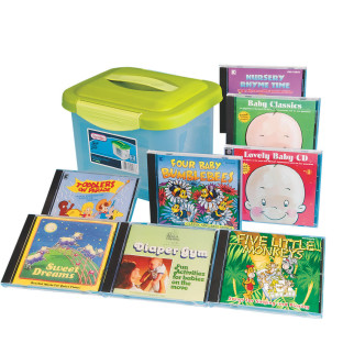 SET OF 8 CDS FOR INFANTS AND TODDLERS