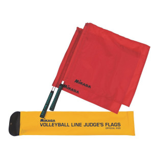 MIKASA VOLLEYBALL LINE JUDGE FLAGS SET OF 4
