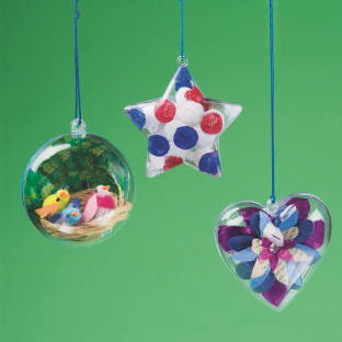 Snap-Together Ornaments