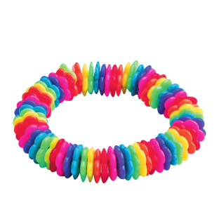 Rainbow Bead Bracelet Craft Kit