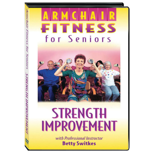 Buy Armchair Fitness Strength Improvement Dvd At S Amp S Worldwide
