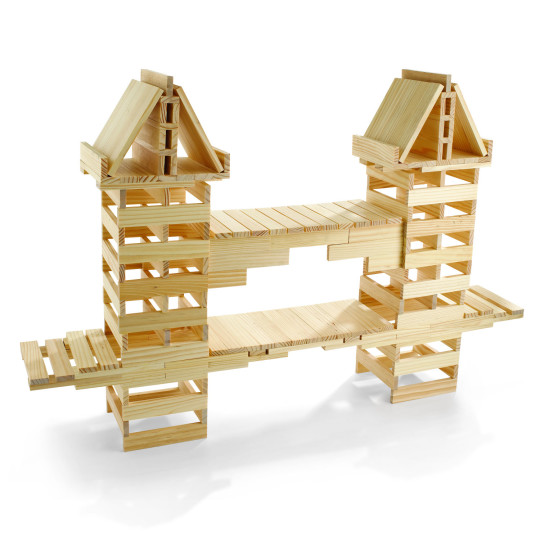 Log Cabin Building Blocks
