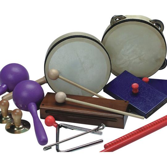 preschool instruments buy rhythm band preschool musical instrument set at s amp s 496